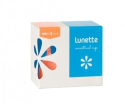 Lunette Menstrual Cup - Coral Aine